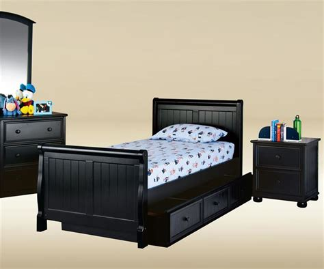 black twin beds cottage style sleigh twin black bed black beds for kids