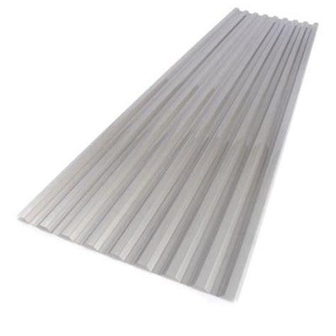 suntuf 26 in x 12 ft solar silver polycarbonate
