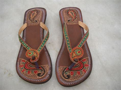 hippie slippers traditional indian leather hobo hippie sandals shoes