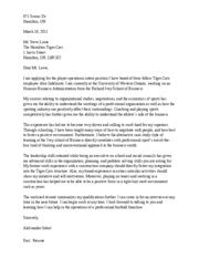 Official Letter Uwo Cover Letter 971 Scenic Dr Hamilton On March 16 2011 Mr Steve Lowe The