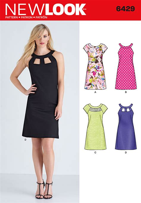 new look new look 6429 misses dresses