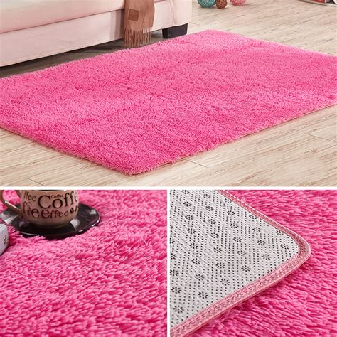 Soft Bathroom Rugs Soft Tufted Microfiber Bathroom Home Mat Rug Non Slip Back Customize Carpet Ebay