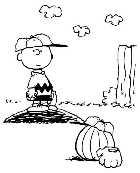 Charlie Brown Halloween Coloring Pages Coloring Home Brown Coloring Pages To Print