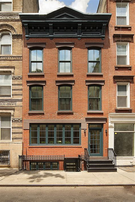 historic new york city townhouse renovated into a modern