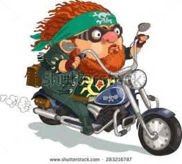 Lustige Motorrad Bilder Comic by Biker Stock Vectors Vector Clip