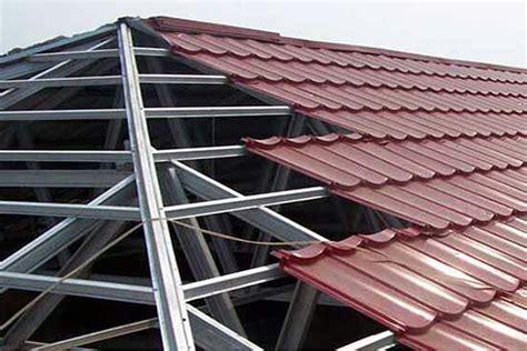 Atap Multiroof Makassar atap baja ringan jasa pasang rangka atap baja ringan