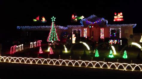 amazing grace christmas light show palm coast fl youtube