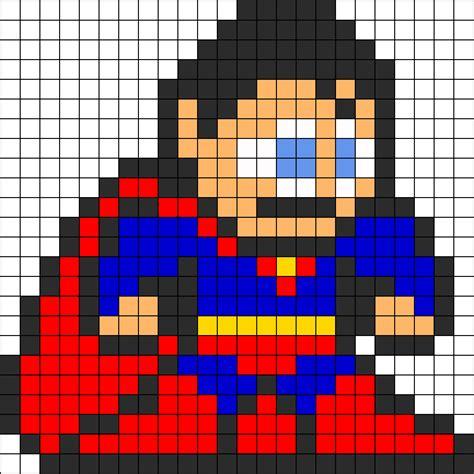 perler superman superman perler bead pattern perler bead pattern bead
