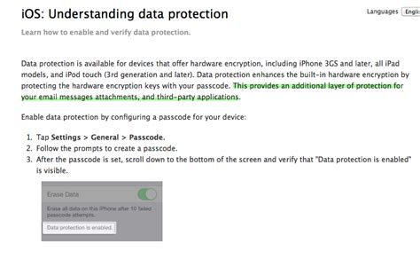 claim apple isn t encrypting email attachments in ios