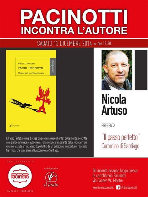 pacinotti libreria mestre incontro con nicola artuso il prato edizioni narrativa