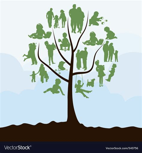 Family Tree Royalty Free Vector Image Vectorstock Family Tree Stock Illustrations 25 863 Family Tree Stock Illustrations Vectors Clipart