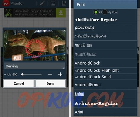 membuat watermark di android download tulisan arab untuk android