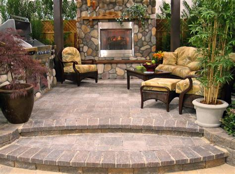 affordable backyard patio ideas patio pit ideas exterior rustic with aspen tree