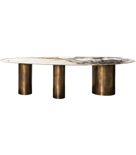 White And Brown Coffee Table Lagos Baxter Table Milia Shop