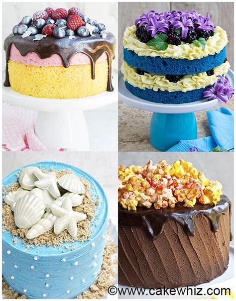 ideas for beginners easy cake decorating ideas cakewhiz