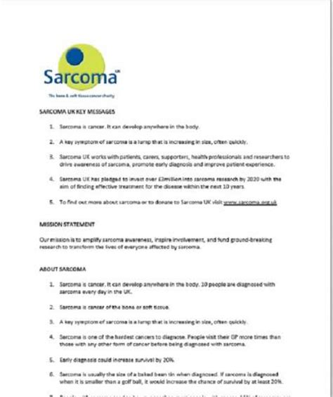 uk press release template press release template for fundraising events sarcoma uk