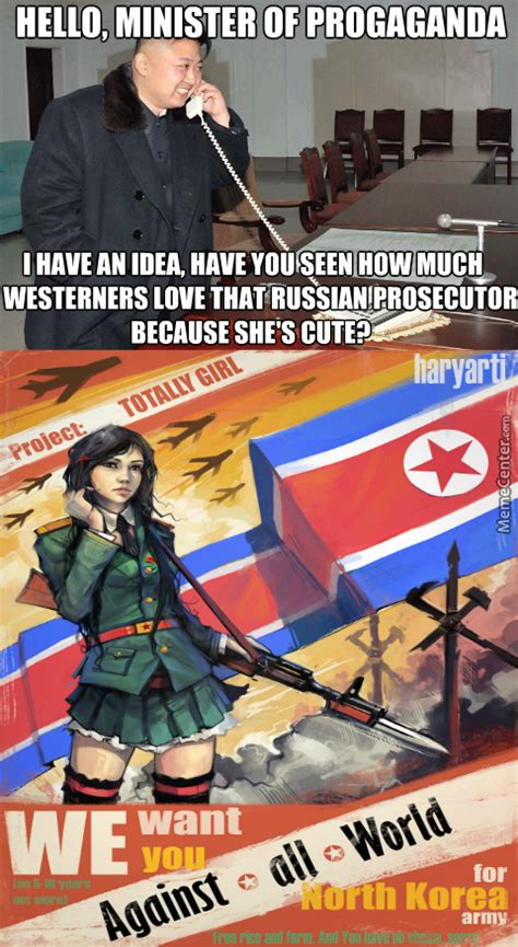 North Korea South Korea Meme - north koreas new plan will attract westerners to the north korean army by kickassia meme center