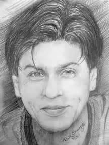 pencil sketch of shahrukh khan desipainters com