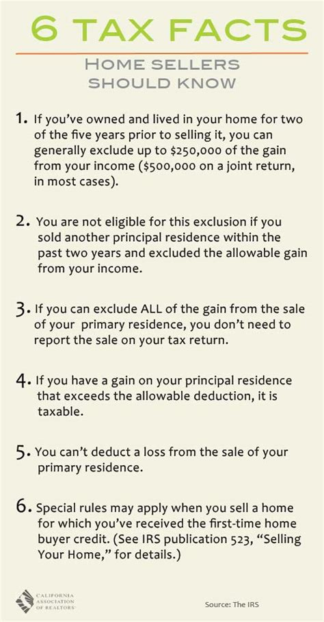 home selling tax tips 2014
