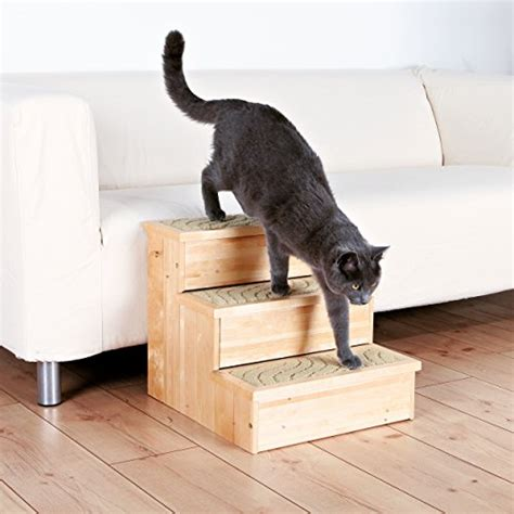 stairs for dogs trixie petstair stairs for dogs and cats birch 40x38 45cm carpet covered steps