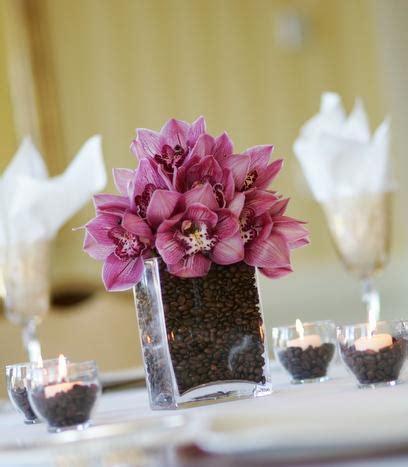 centros de mesa  granos de cafe lacelebracioncom