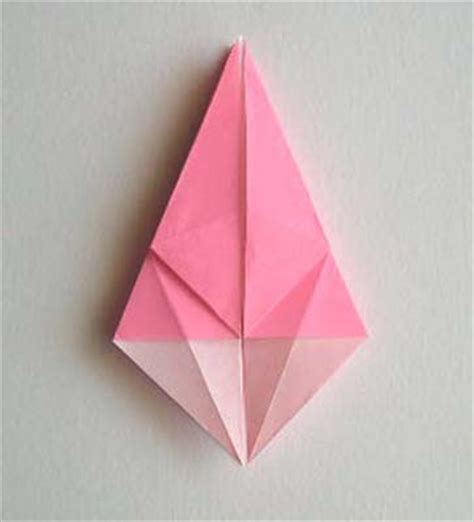 Origami Petal Fold - origami folding how to make origami