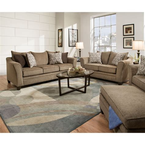 Living Room Furniture Groupings by United Furniture Industries 6485 Living Room
