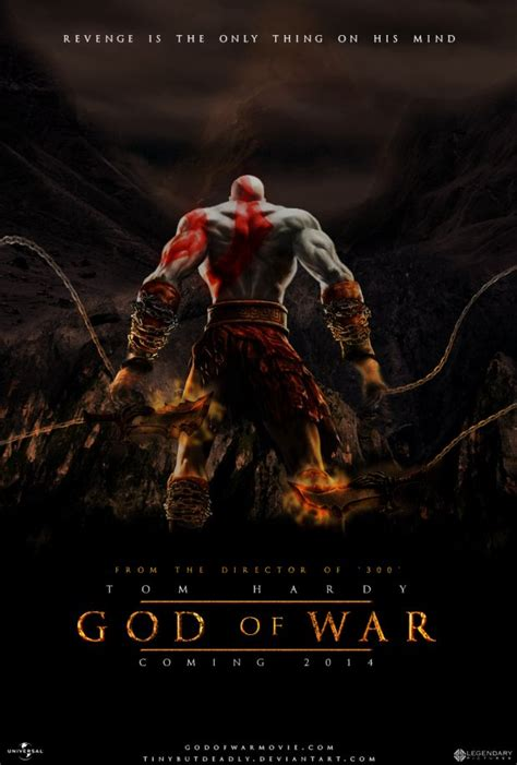 film de god of war fan made god of war movie poster looks stunning tom hardy