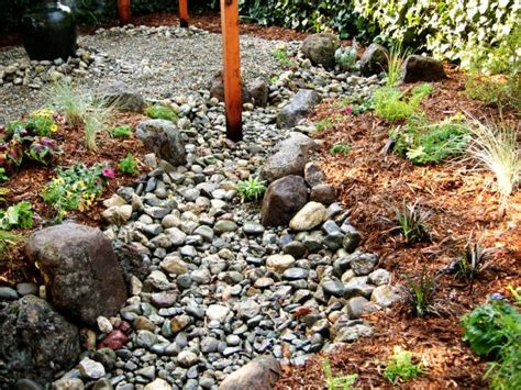 diy river bed how to install a creek bed how tos diy