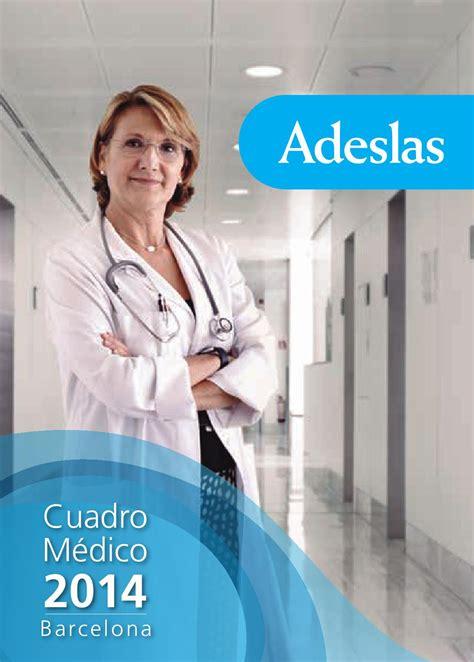 adeslas cuadro medico barcelona cuadro medico adeslas barcelona by esther lopez issuu