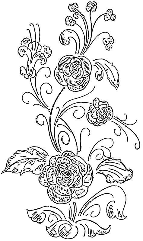 design flower pattern simple flower designs for glass painting www pixshark