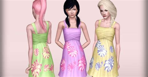 my sims 3 blog summer my sims 3 blog sunny summer quot summer dress for teens to