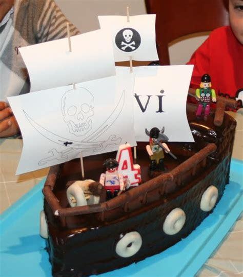 barco pirata tarta cosas de marga tarta barco pirata