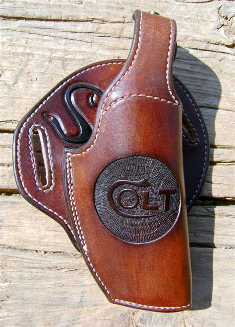 Custom Handmade Leather Holsters - 29 best custom leather holsters and knife sheaths images
