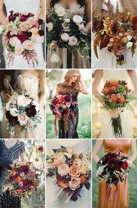 fall wedding flower ideas pictures falling in with these great fall wedding ideas
