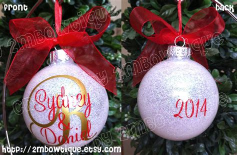christmas gift ideas for newly married couple great gift idea for newly married personalized ornament glass