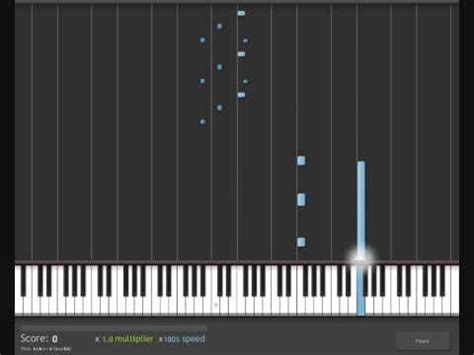 piano tutorial x files theme how to play x files theme on piano keyboard youtube