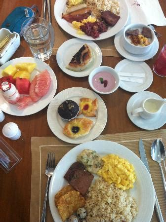 awesome buffet breakfast picture of marco polo davao
