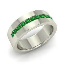 emerald s wedding bands emerald s rings may