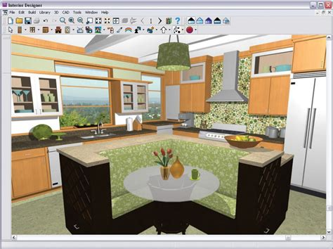 Interior Home Design Software Kitchen Bath | 4 kitchen design software free to use modern kitchens