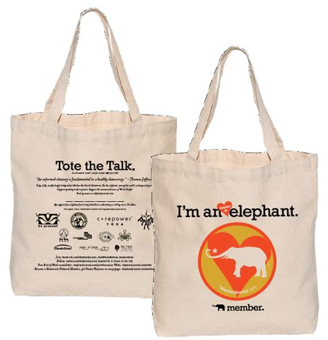 Special Edition S Bag Elephant designs elephant s third tote the talk edition get your logo on next edition