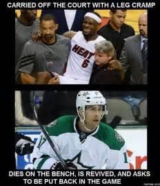 better sports basketball vs hockey memes