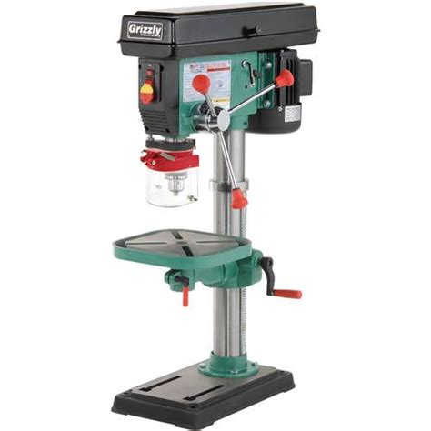 best bench drill 12 speed heavy duty bench top drill press grizzly industrial