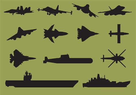 silhouette vector aircraft carrier silhouettes download free vector art