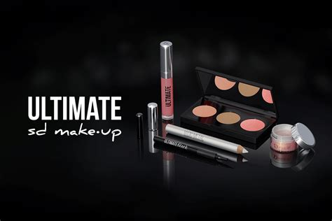 Make Up Ultimate conhe 231 a o kit ultimate da sd make up sobrancelhas