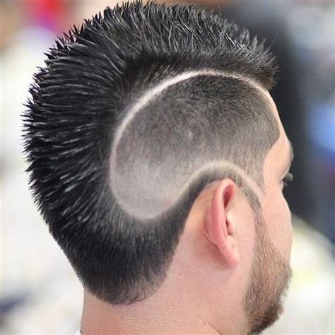 mohawk designs line 40 unique line hairstyles to help men make a statement