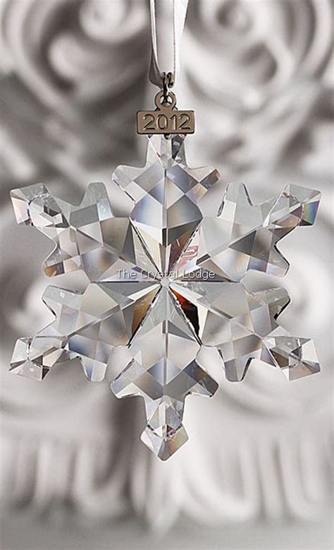 swarovski swarovski 2012 christmas ornament large clear