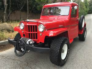 Road Jeep For Sale 1957 Willys Up Truck Road For Sale