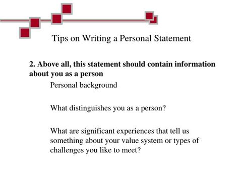 Tips For Writing A Personal Essay by Ppt Career Connection Powerpoint Presentation Id 6105269