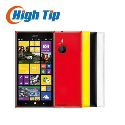 Touchscreen Lumia 535rm1090 original unlocked nokia lumia 1520 mobile phone 20 0mp 6 0 inch touchscreen 32gb